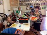 Volunteers prepping for the Picnic! Photographed by Joseph Kamiya.