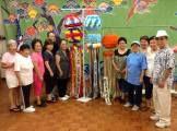OAA's new Tanabata Festival kazari, made entirely by volunteers! Photographed by Joseph Kamiya.