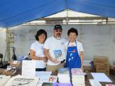 Volunteers at the Bazaar! Photographed by Eric Takushi.
