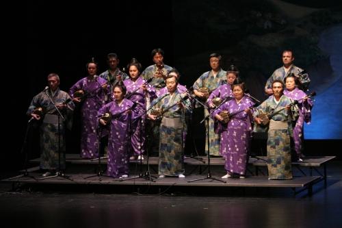 Traditional Okinawan folk music by Ryukyu Minyo Aikoh Kai and featuring one of the most popular instruments in Okinawa, the sanshin.