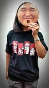 Ryukyu Cartoon Characters T-Shirt