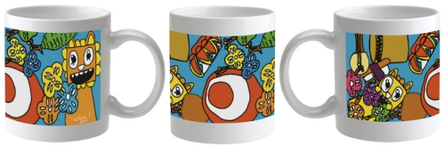 Limited edition ceramic mug designed by one of our 2015 kids art contest winners, Melissa Tran!
