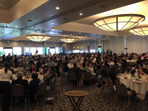 The New Year's Party is one of the OAA's largest annual events, drawing an average of 500+ participants!