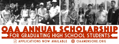OAA ANNUAL SCHOLARSHIP