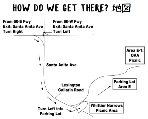 WHITTIER NARROWS MAP